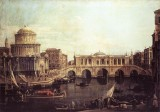 Capriccio: The Grand Canal, with an Imaginary Rialto Bridge and Other Buildings