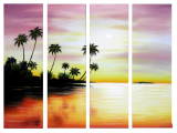 Buytopia-Reduced Multipanel Oil Painting 187