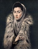 A Lady in Fur Wrap