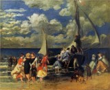 Return of a Boating Party