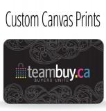 Teambuy Sept 12 - Custom Canvas Print 36 x 48