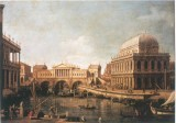 Capriccio: A Palladian for The Rialto Bridge, with Buildings at Vicenza