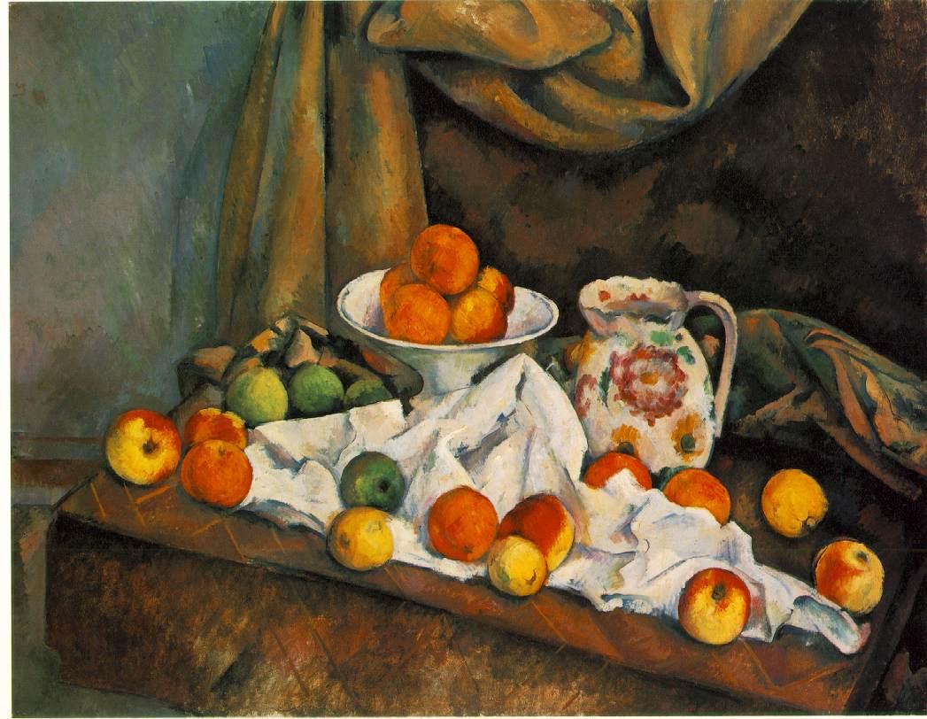 Paul Cezanne - Ì_Still Life with Compotier