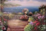 Garden Oil Painting 043