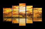 Premium Multipanel Oil Painting 2