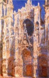 Rouen Cathedral, the Portal and the Tour d'Albane, Full Sunlight