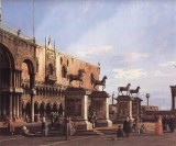 Capriccio: The Horses of S. Marco in The Piazzetta