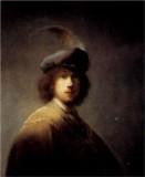 Self Portrait in a Plumed Hat