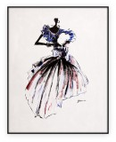Fashion Collection 037G: 30x40 inches