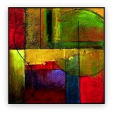 "Abstracts Vol 1 - 187: 40"" x 40 """