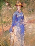Young Woman in a Garden