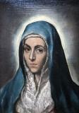 The Virgin Mary (Mater Dolorosa)
