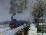 Train in the Snow, the Locomotive