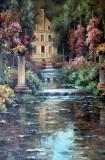 Garden Oil Painting 030