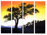 Buytopia-Reduced Multipanel Oil Painting 189
