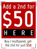 Downloadable Coupon: 2nd Multipanel for $50