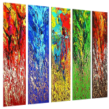 Designer  Multipanel Oil Painting 246