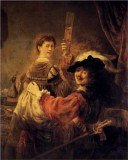 Rembrandt and Saskia in the Scene of the Prodigal Son in the Tarven