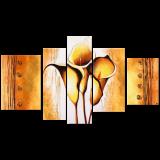 Designer  Multipanel Oil Painting G124