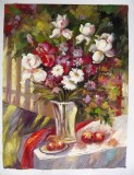 Floral Oil Painting 043