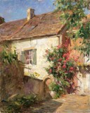 Garden Oil Painting 041
