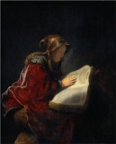 The Prophetess Anna, Rembrandt's Mother