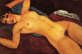 Reclining Nude with Opened Arms