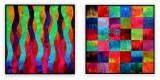"Abstracts Vol 1 - 033: Set of 2 | 40"" x 40"" each"