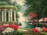 Garden Oil Painting 007