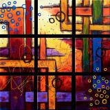 Designer  Multipanel Oil Painting 88