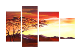 Buytopia-Reduced Multipanel Oil Painting 7