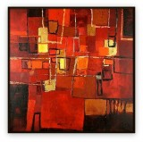 "Abstracts Vol 1 - 005G: 40"" x 40 """