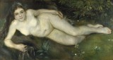 Nymph by a Stream