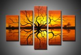 Premium Multipanel Oil Painting 601