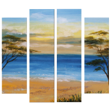 Buytopia-Reduced Multipanel Oil Painting 162