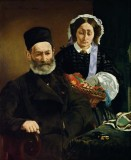 Monsieur and Madame Auguste Manet: The Artist's Parents