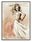 Fashion Collection 016G: 30x40 inches