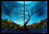 Premium Multipanel Oil Painting 207