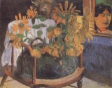 Sunflowers on a Chair