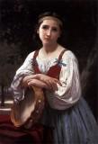 Gypsy Girl with a Basque Drum (Bohemienne au Tambour de Basque)