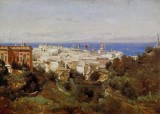 View of Genoa from the Promenade of Acqua Sola