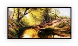 Canadian Landscapes 047G: 24x48inches