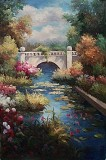 Garden Oil Painting 029