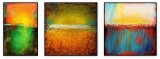 "Abstracts Vol 1 - 011: Set of 3, Total 72"" x 84 """