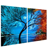 Buytopia-Reduced Multipanel Oil Painting 205