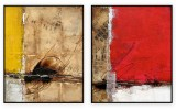 """Abstracts Vol 1 - 176: Set of 2 - 30"""" x 40 """" each"""