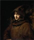 Titus van Rijn in a Monk's Habit