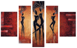 Designer  Multipanel Oil Painting G221