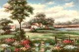 Garden Oil Painting 008