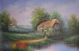 Garden Oil Painting 019